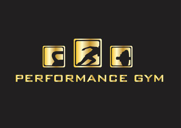 Performance gym logo