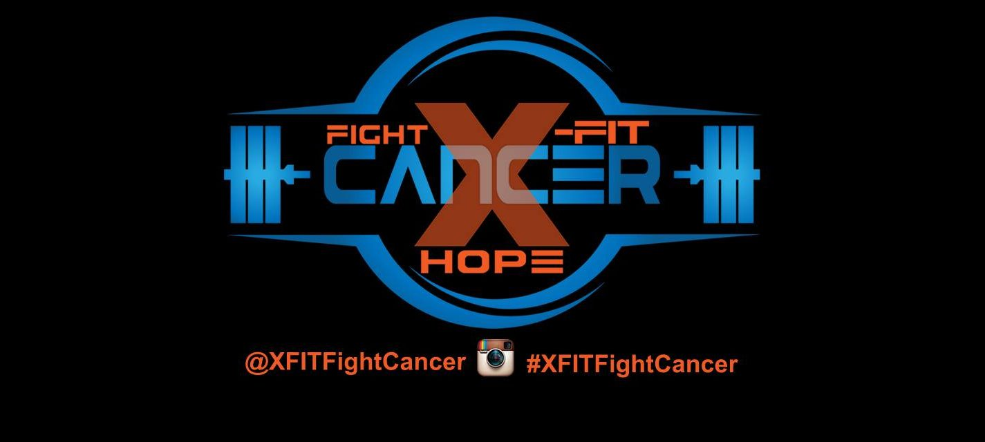 X-FIT Fight Cancer logo